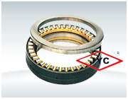 High temperature Types Thrust roller bearings